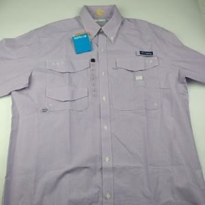 Columbia Shirts - Columbia PFG men's long sleeve large button up